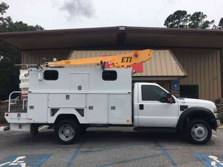 Ford F550 BUCKET/SERVICE TRUCK (2009)