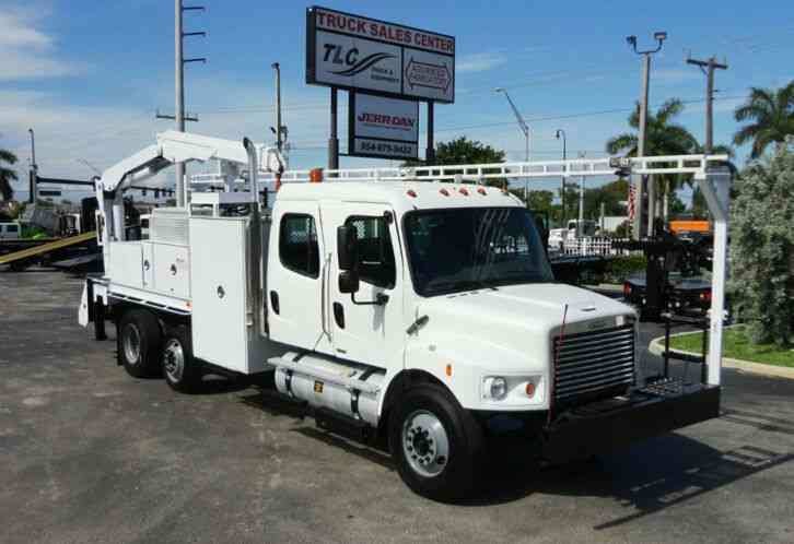 Freightliner BUSINESS CLASS M2 31FT CRANE, STELLAR 60MH 6000LB. . CREWCAB HD (2009)
