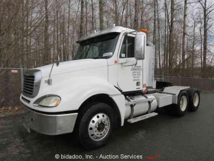 Freightliner Tractor Weight : Freightliner columbia  daycab semi trucks