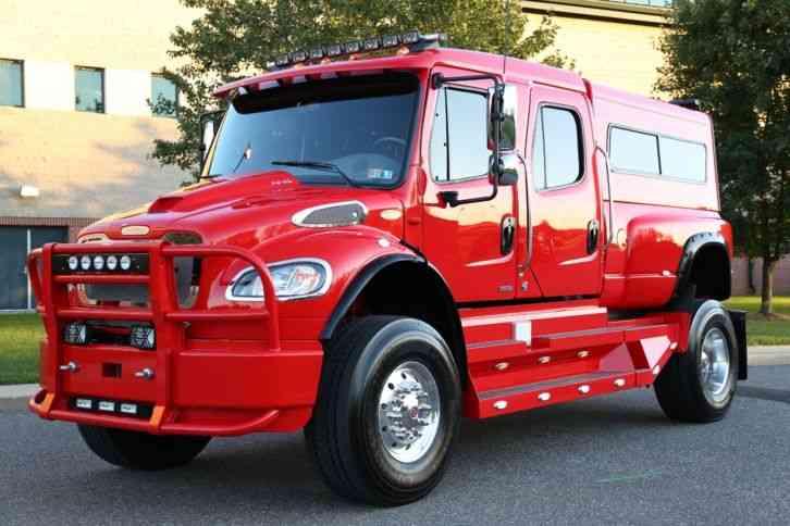 Used Bucket Trucks For Sale >> Freightliner M2 SPORTCHASSIS P4XL (2009) : Medium Trucks