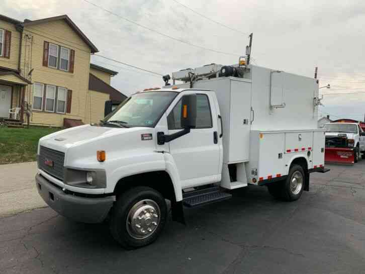 GMC C-5500 SERVICE UTILITY BED TRUCK KUV (2009)