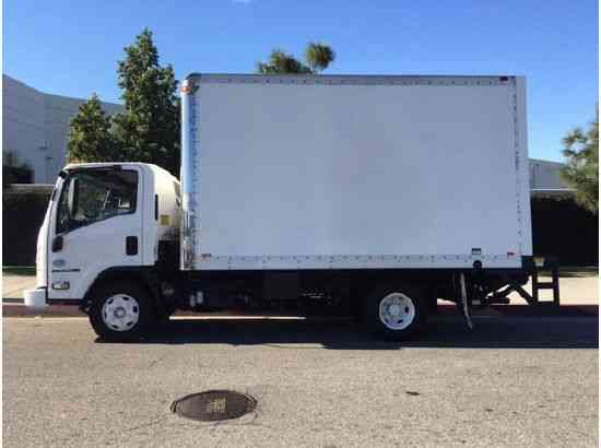 Isuzu Npr Hd Side Door 14ft Box Truck With Liftgate 2009