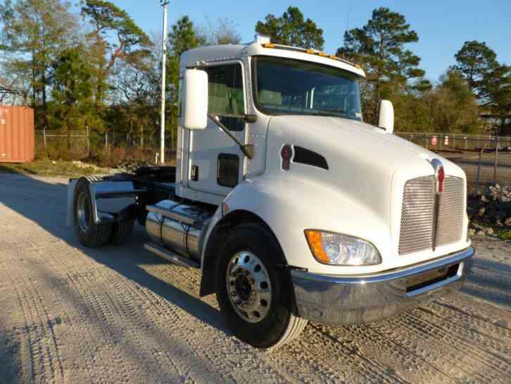 Semi Truck Batteries >> Kenworth T370 (2009) : Daycab Semi Trucks
