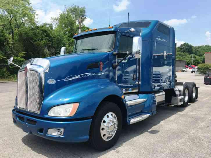 Kenworth T660 2009 Sleeper Semi Trucks