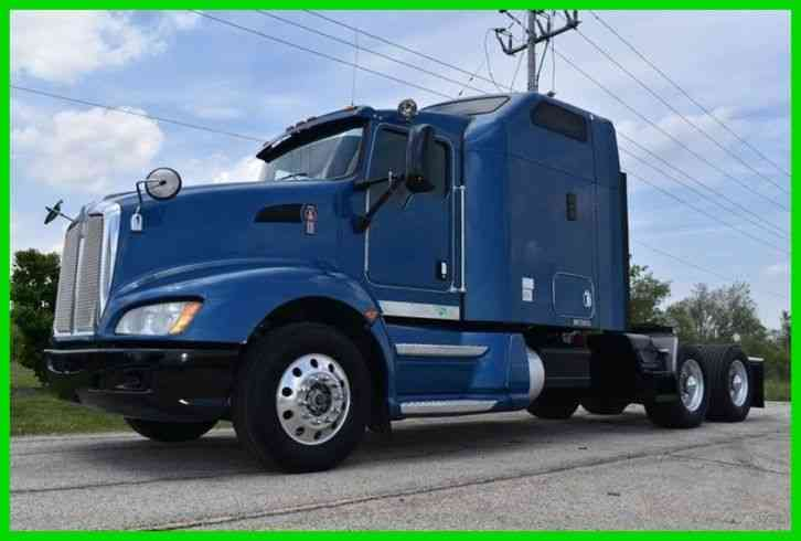 Kenworth T660 Sleeper Cab Semi (2009)