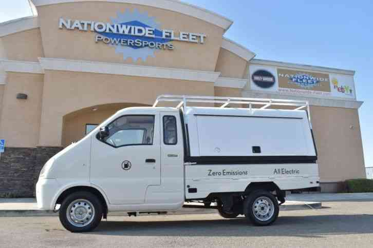 Miles Automotive Electric Vehicle Lsv Truck 2009