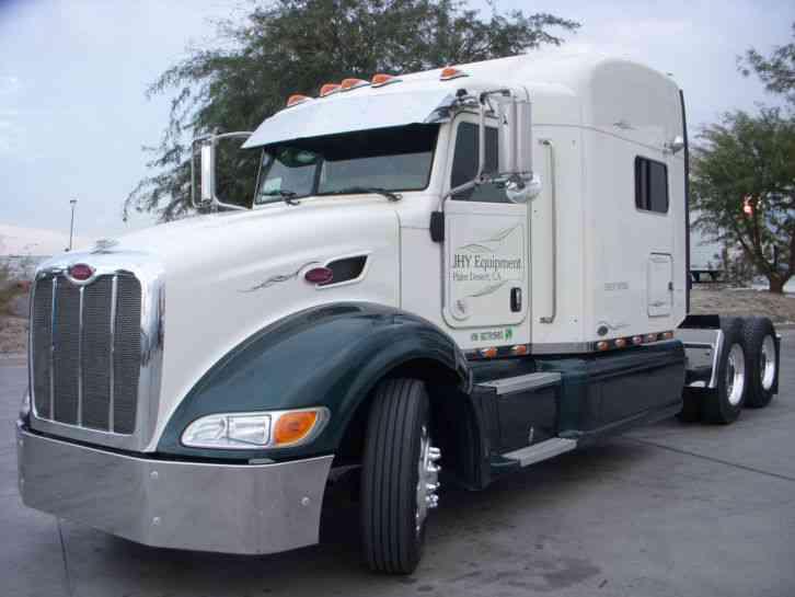 Peterbilt 386 70 Sleeper (2009) : Sleeper Semi Trucks