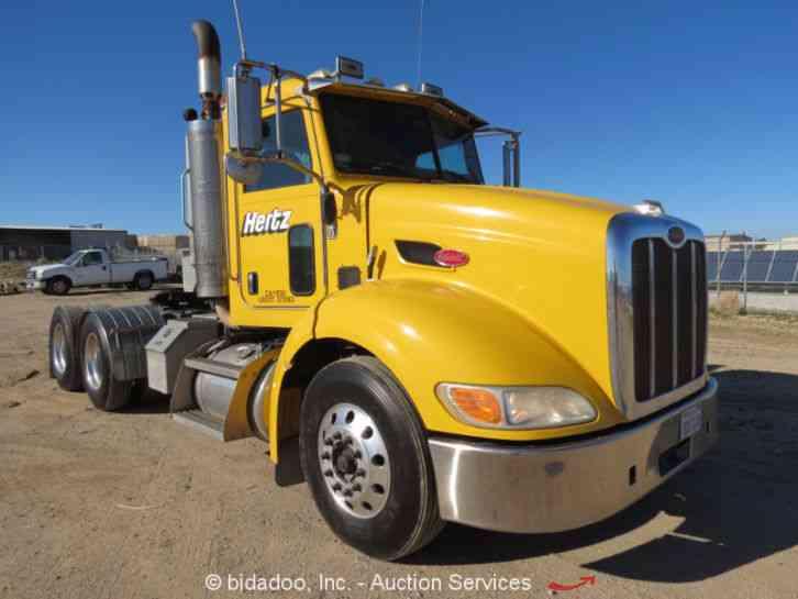Heavy Truck Pto : Peterbilt  daycab semi trucks