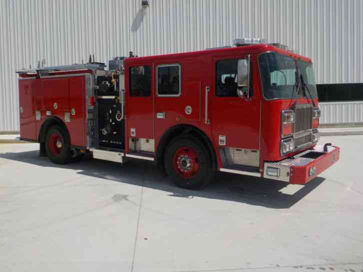 Seagrave 2009 Emergency Amp Fire Trucks