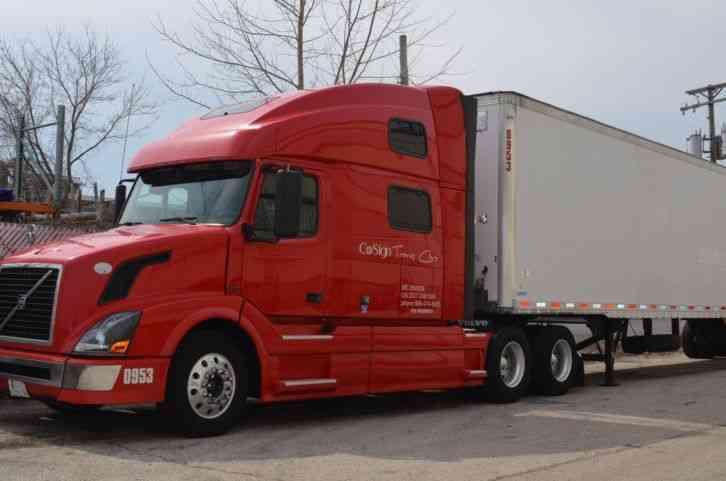 Volvo VNL780 (2009) : Sleeper Semi Trucks