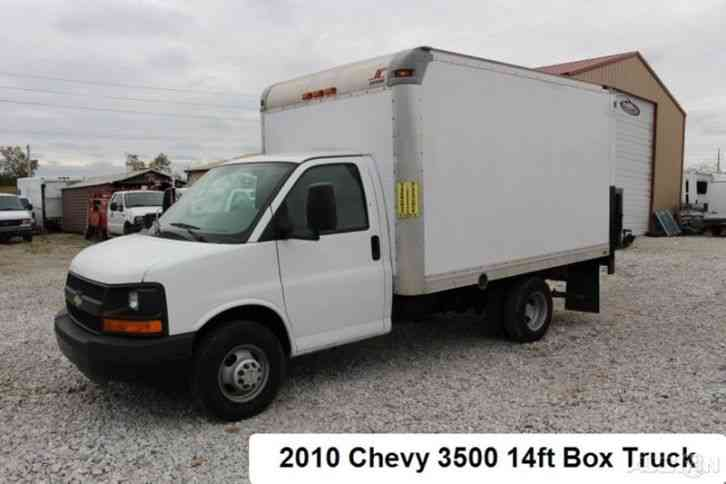 chevrolet 3500 box truck 2010 van box trucks. Black Bedroom Furniture Sets. Home Design Ideas