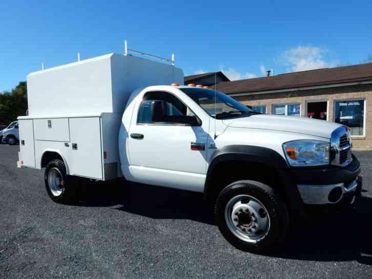Dodge Ram 4500 Heavy Duty 2010 Utility Service Trucks