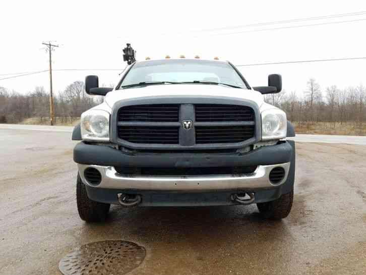 Dodge Ram 5500 Hd 2010 Utility Service Trucks