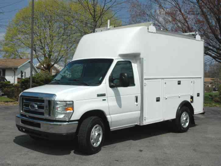 Ford E350 Enclosed Utility Service Body 2010 Utility