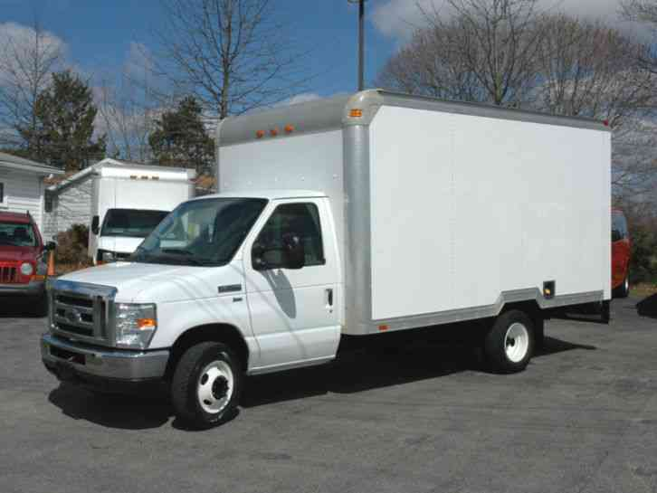 Ford E350 14ft Box Tk 2010 Van Box Trucks