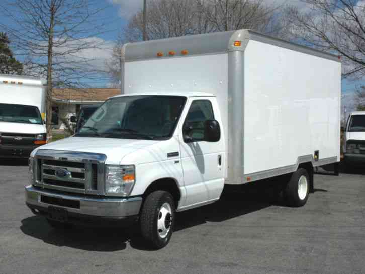 ford e350 14ft box tk 2010 van box trucks. Black Bedroom Furniture Sets. Home Design Ideas