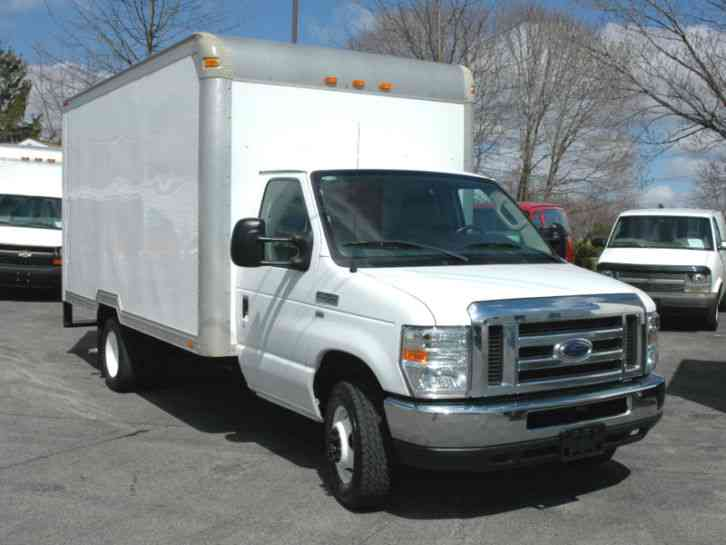 Ford E350 14ft Box Tk 2010 Van Box Trucks