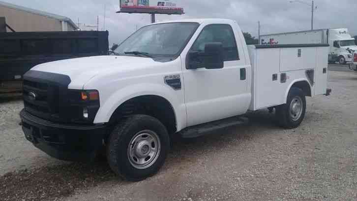 Ford F-250 Super Duty 4x4 Utility Truck (2010)