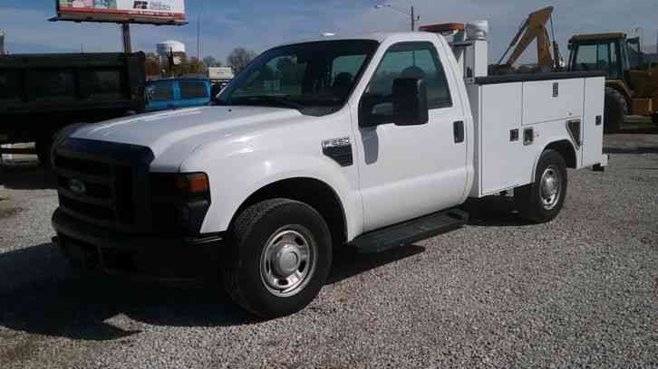 Ford F-250 Super Duty Utility Truck (2010)