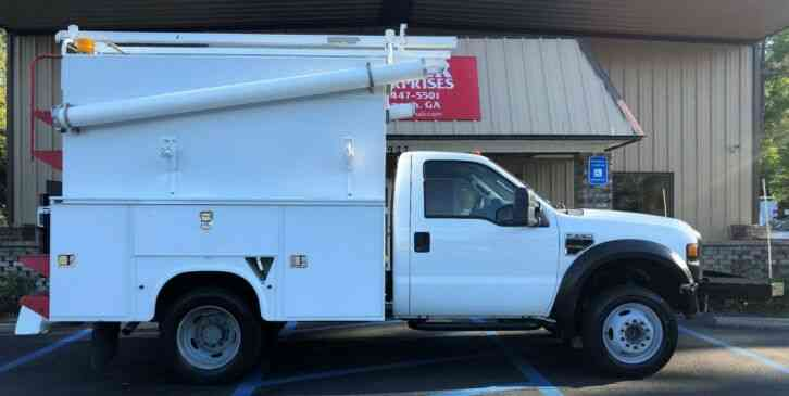 Ford Ford F550 Knapheide Enclosed Service Truck (2010)