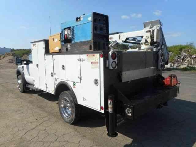 Ford F550 Service Mechanics Crane Truck  2010    Utility    Service Trucks