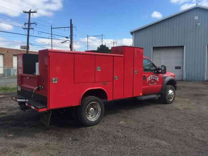 Ford F Service Utility Mechanics Truck Diesel F Reading Body Custom on Ford Vehicle Identification Number Vin
