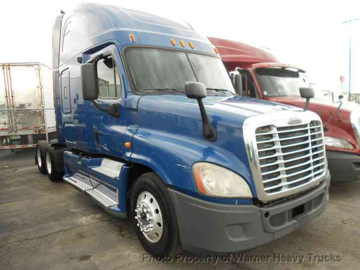 Semi Truck Transmissions : Freightliner cascadia speed transmission