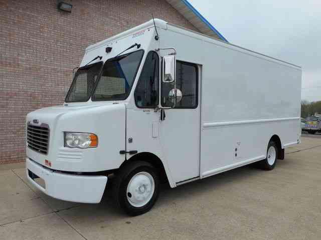 freightliner step van 2010 van box trucks. Black Bedroom Furniture Sets. Home Design Ideas