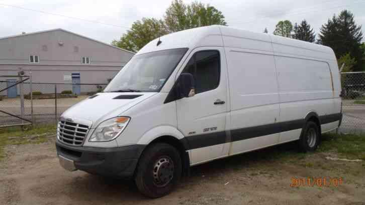 Freightliner Sprinter Van on Tow Truck Catalytic Converter