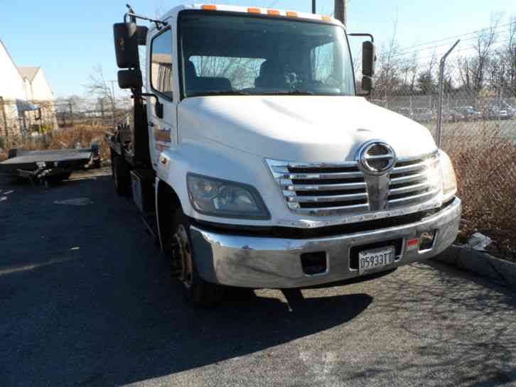 Hino six cylinder 2010 flatbeds rollbacks for Used tow motors for sale