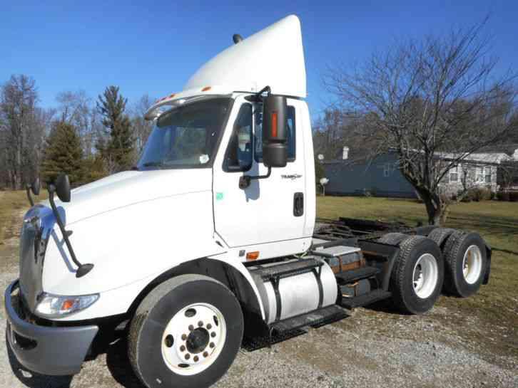 International 574 Tractor Seat : International daycab semi trucks