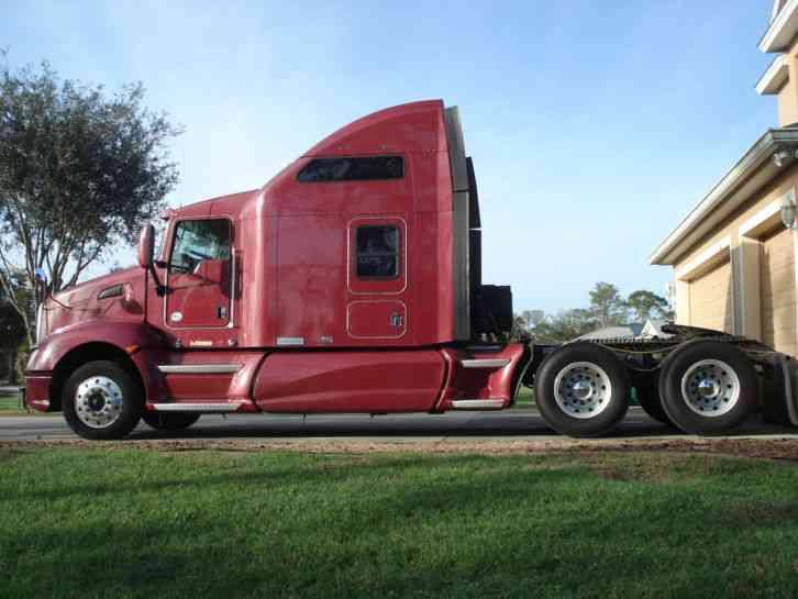 Kenworth T660 (2010) : Sleeper Semi Trucks