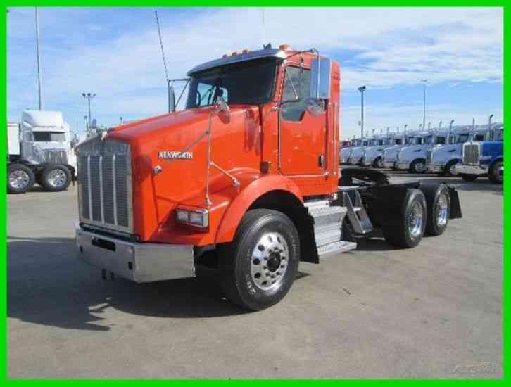 Semi Truck Weight : Kenworth t daycab semi trucks