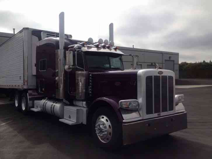 How Long Does Def Last >> Peterbilt 389 (2010) : Sleeper Semi Trucks