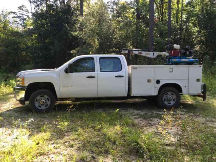 Chevrolet Silverado 2500HD (2011) & Chevrolet Silverado 2500HD (2011) : Utility / Service Trucks