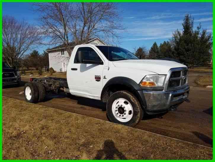 Dodge 5500 Hd 4x4 2011 Medium Trucks