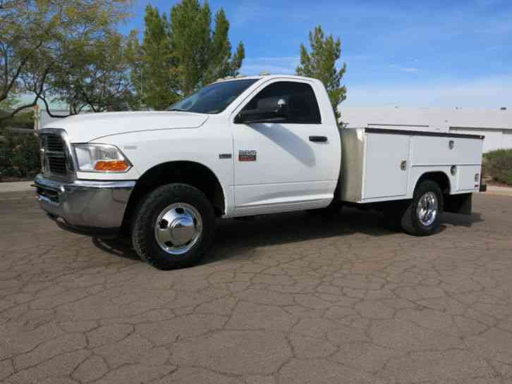2011 dodge 3500 dually bed