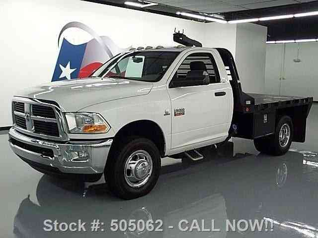 dodge ram 3500 reg cab diesel drw 4x4 flat bed 2011 commercial pickups. Black Bedroom Furniture Sets. Home Design Ideas