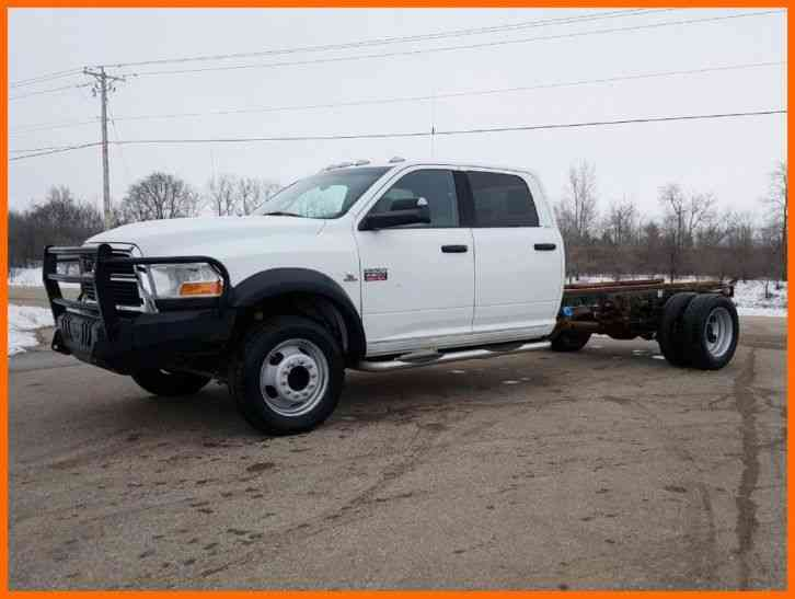 dodge ram 4500 hd chassis  2011  medium trucks 2011 Dodge Ram 1500 SRT 2011 Dodge Ram Customized