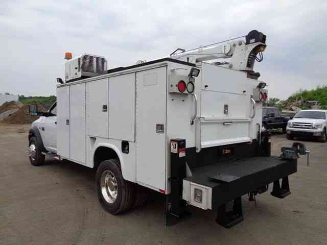 Dodge Ram 5500 Mechanics Service Crane Truck 2011
