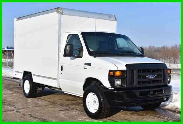 Ford E 350 10ft Box Truck 2011 Van Box Trucks