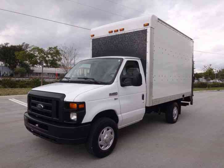 Carfax Used Trucks >> Ford E350 Econoline Commercial Cutaway 12ft Box Truck ...