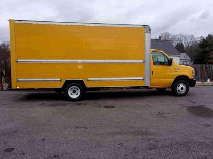ford e350 box truck 2011 van box trucks. Black Bedroom Furniture Sets. Home Design Ideas