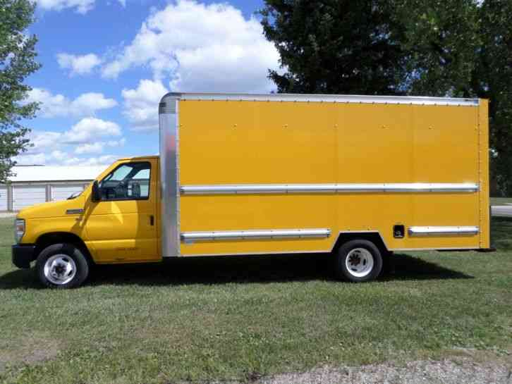 2011 ford e350 cutaway van