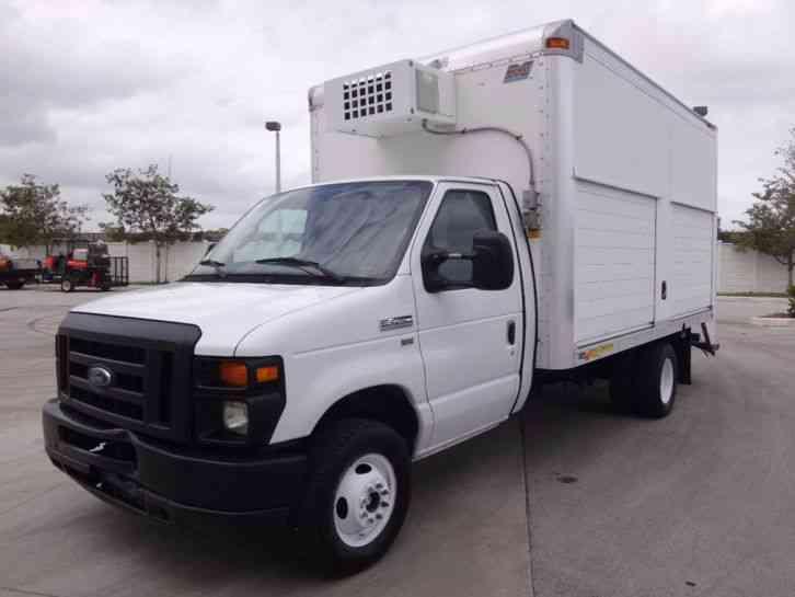 Ford E450 Reefer Freezer Box Truck 2011 Van Box Trucks