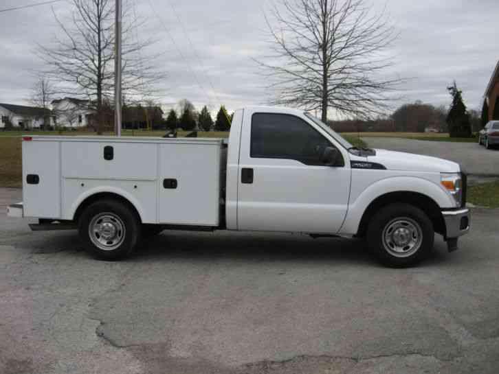 ford f250 super duty  2011    utility    service trucks