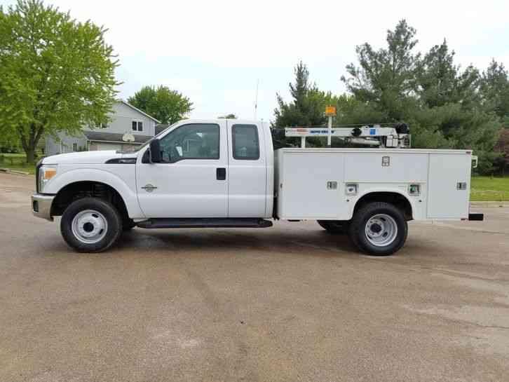 Used Utility Trucks >> Ford F350 4X4 (2011) : Utility / Service Trucks