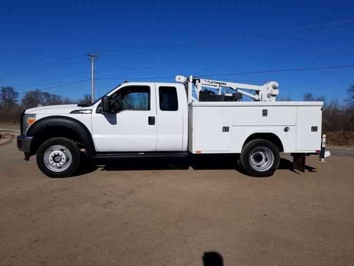 Ford F450 4X4 (2011) : Utility / Service Trucks