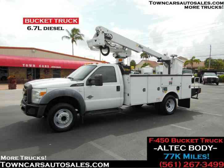 Ford F450 Bucket Truck 77, 000 Miles (2011)