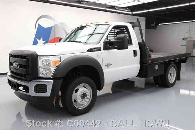 Ford F-450 REG CAB DIESEL DUALLY FLATBED TOW (2011)